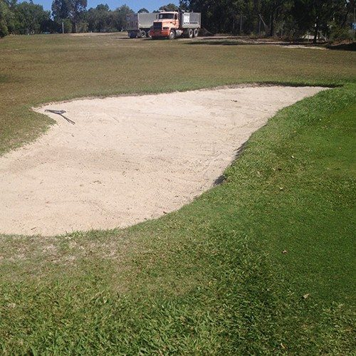 Bunker Sand - Bulk Landscape Supplies, Brisbane, Gold Coast Delivery Service