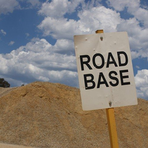 Orange CBR45 Road Base - Bulk Landscape Supplies