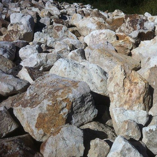 Porphyry Rocks - Bulk Landscape Supplies Brisbane