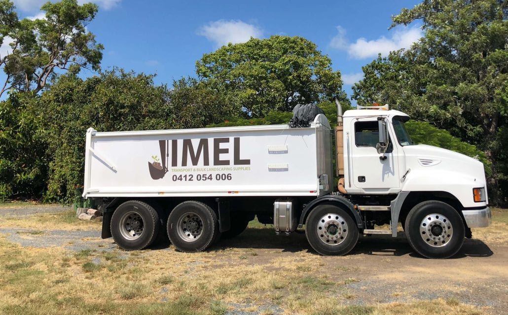 Bulk Landscaping Supplies Jimel Transport - Body Truck