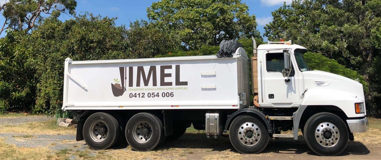 Bulk Landscaping Supplies Jimel Transport - Body Truck