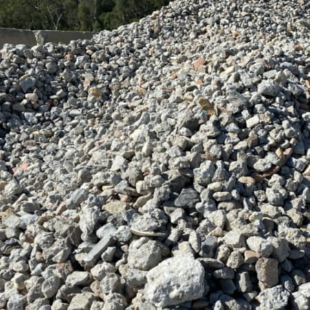 Recycled Concrete Aggregate 40-70mm Suppliers - Bulk Landscape Suppliers Brisbane
