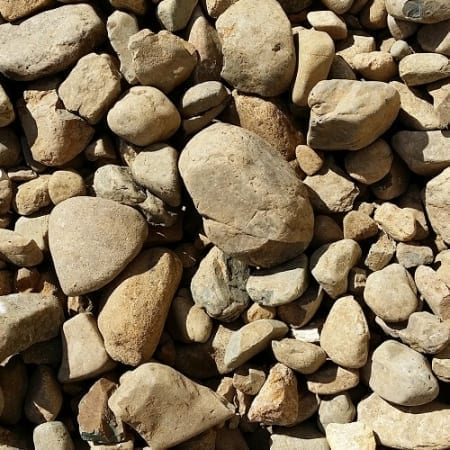 River Stone 45mm-150mm Rock - Bulk Landscape Suppliers Brisbane